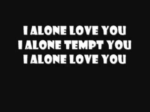 I Alone Lyrics