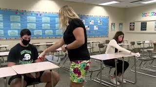 1p Covid Safety: Hallways & Desks