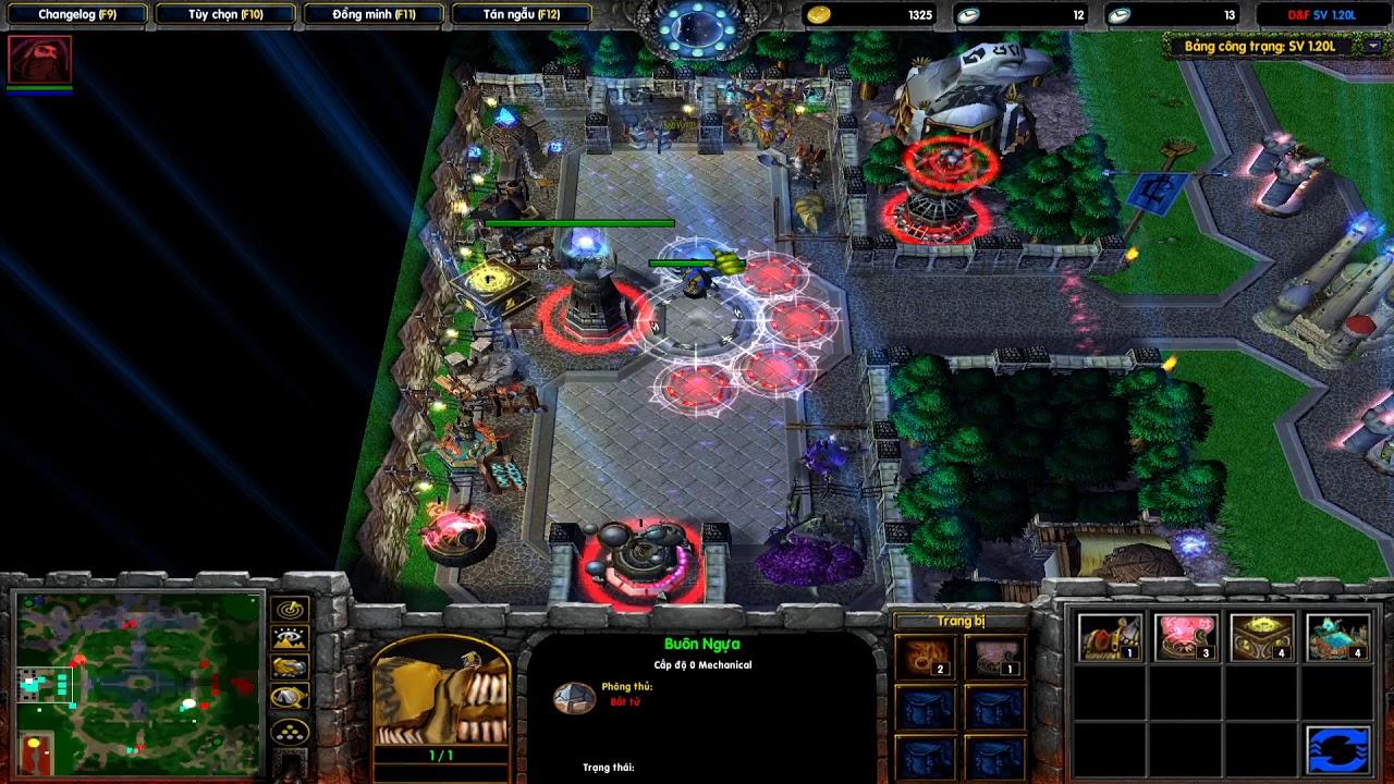 Warcraft 3 | Divide and Fight - khi kẻ cuồng solo gặp nhau 500k/1set (1sv, 1rev) với Soul_ofwindys