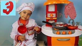 Детская кухня Готовим вместе с поваром Эмилюшей
