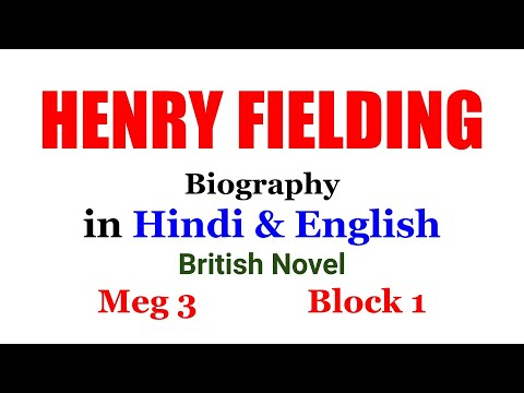 HENRY FIELDING IN HINDI AND ENGLISH NET SET JRF