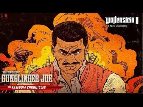 Wolfenstein II The Adventures Of Gunslinger Joe DLC (ULTRA HARD)  Part 2, Volume 1 Continued |