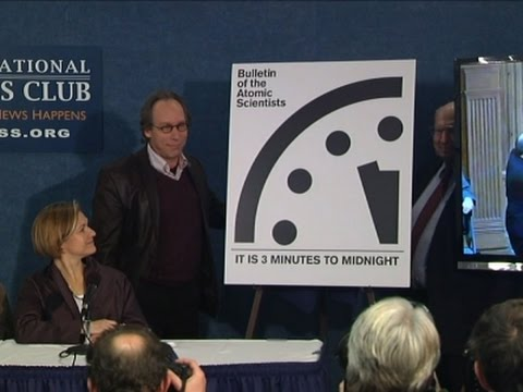 'Doomsday Clock' Reflects Dangers to World