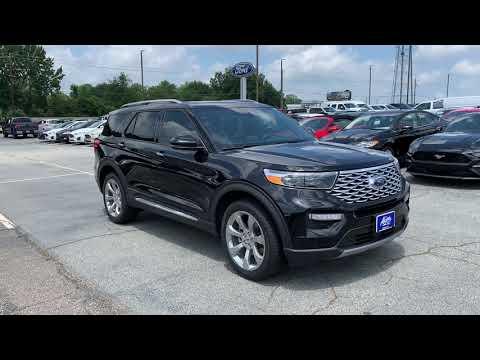 2020 Ford Explorer Platinum SUV AWD Akins