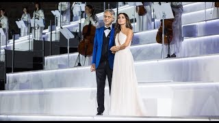 Zara And Andrea Bocelli Cheek To Cheek Intimissimi On Ice 2017