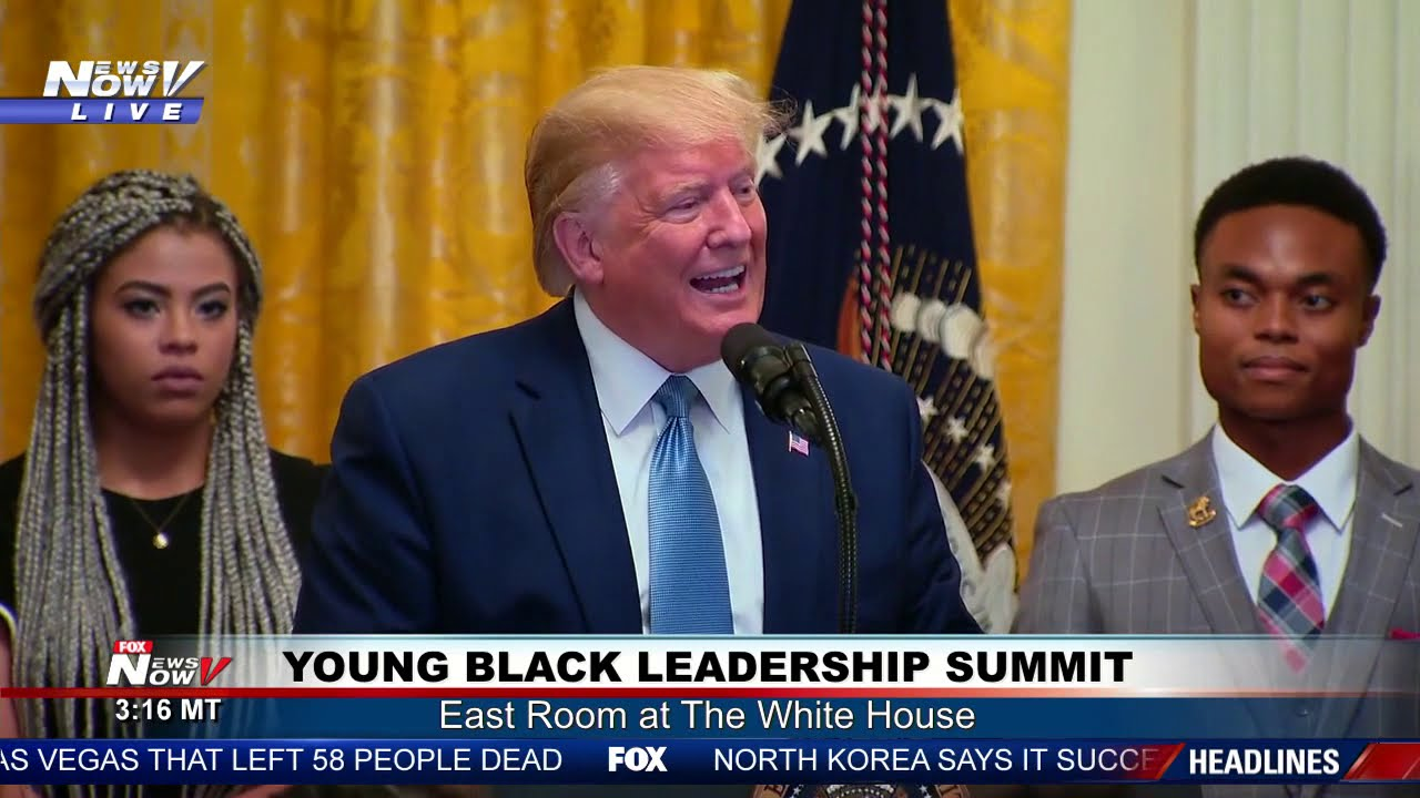 FULL EVENT: President Trump remarks at Young Black Leadership Summit 2019