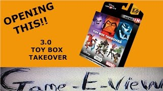 Disney Infinity 3.0 - Toy Box Takeover Unboxing