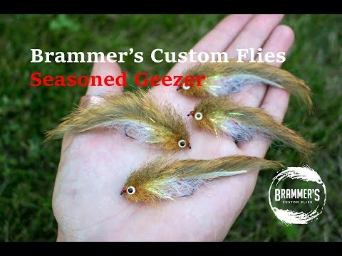 Fly Tying: Brammer's Seasoned Geezer - Trout Streamer