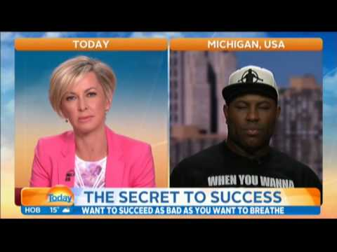 Eric Thomas Live on the Today Show