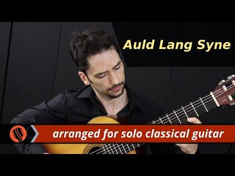 Auld Lang Syne (solo classical guitar arrangement by Emre Sabuncuoglu)