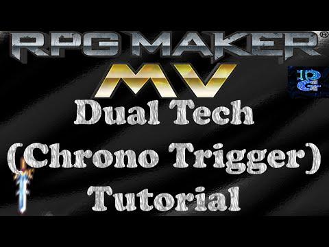 RPG Maker MV Dual Tech Chrono Trigger Tutorial
