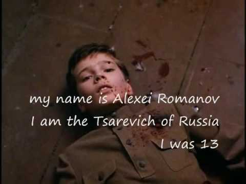 Tsarevich Alexei Romanov of Russia - the story of my life