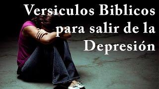 Versiculos biblicos para superar la Depresión + MUSICA PARA ORAR