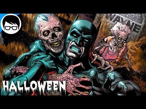 "LOS COMICS MAS OSCUROS DE DC (2018) ""Especial Halloween - Terror"""