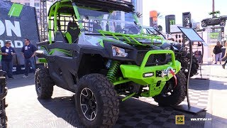 2018 Textron Off Road Havoc Side By Side ATV - Walkarond - 2017 SEMA