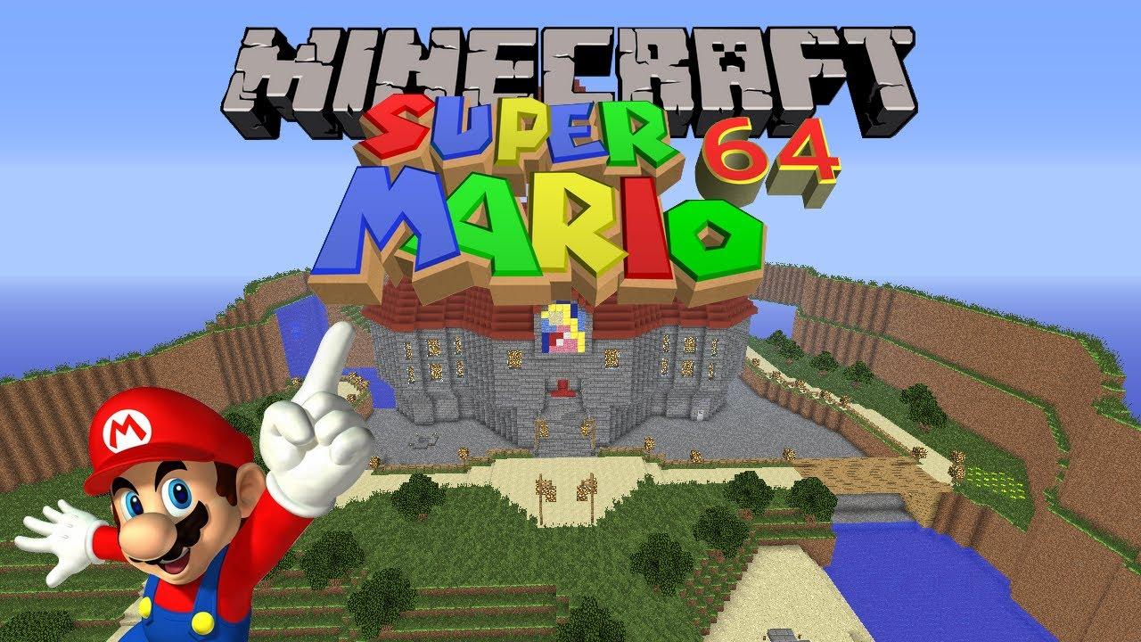 Minecraft Super Mario 64 Castle Map Download