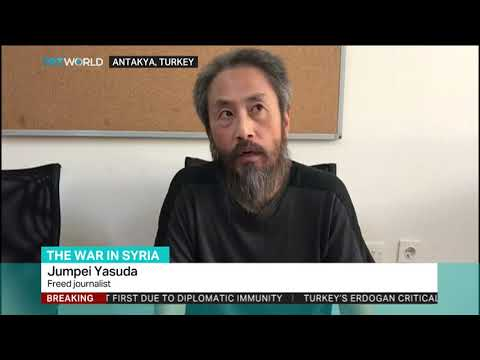 Japanese journalist held captive in Syria released