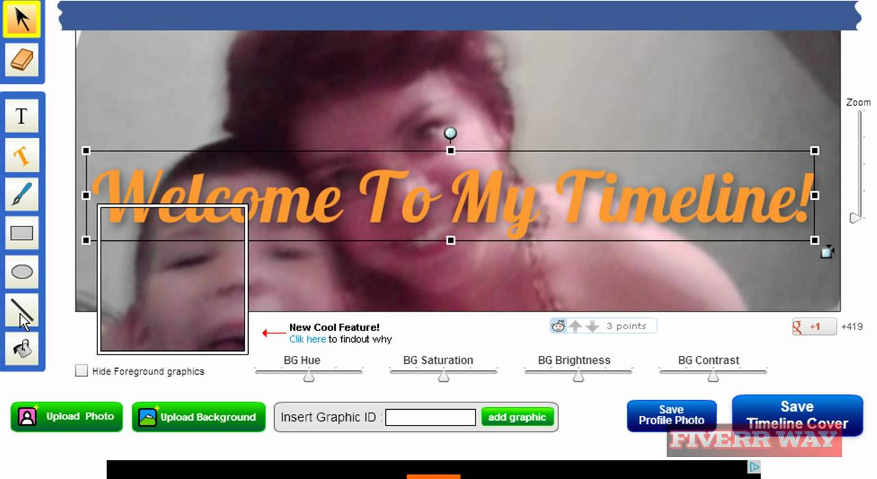 how to design a creative facebook timeline cover for your business or personal profile 1. Black Bedroom Furniture Sets. Home Design Ideas