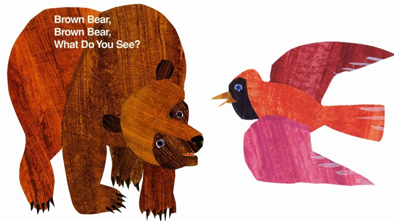 Massif image intended for brown bear brown bear printable books