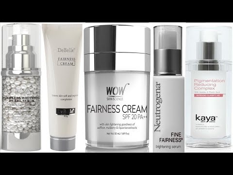 Top 10 Best Skin Lightening Cream in India, Gels, And Serums