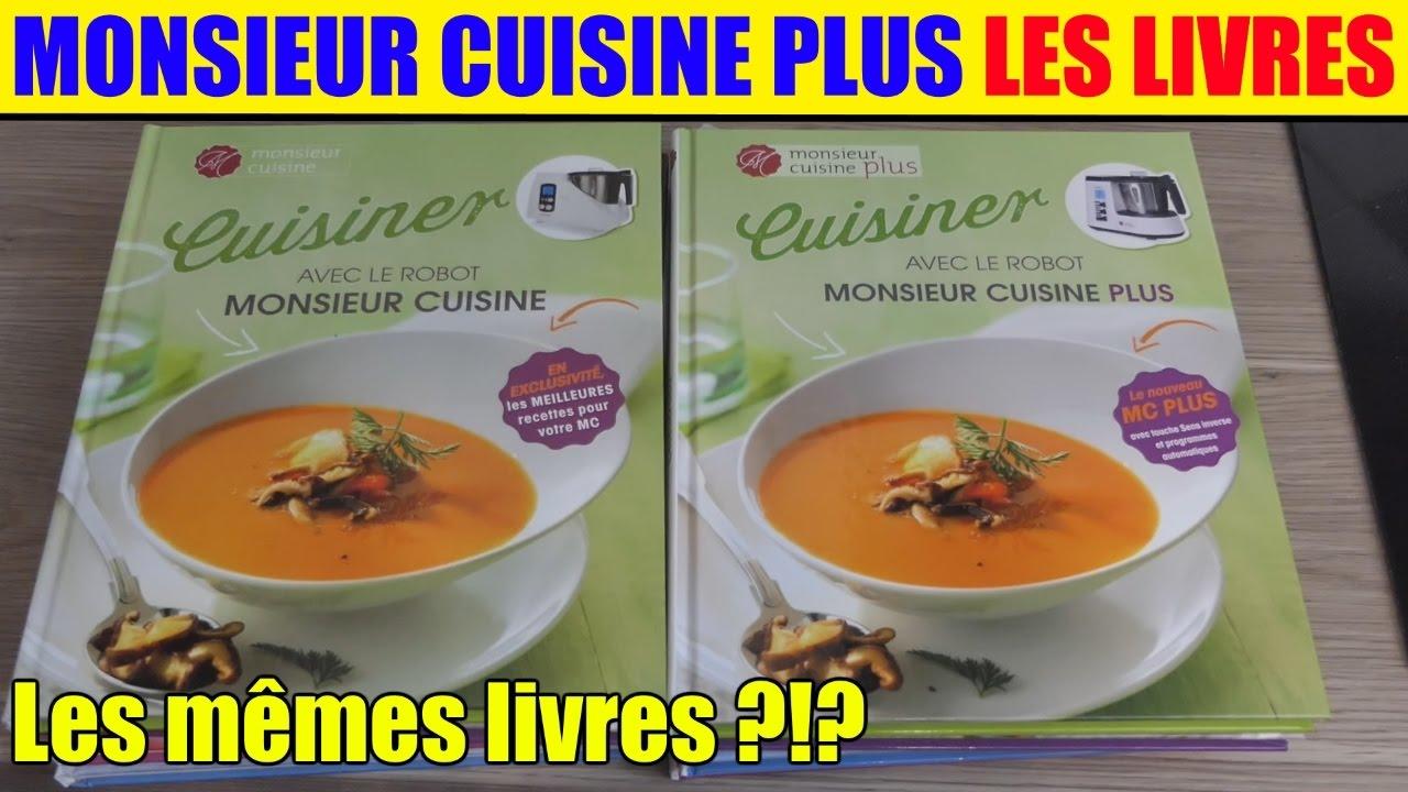 Monsieur cuisine plus livres de recettes pr sentation for Anciens livres de cuisine