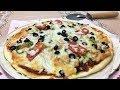 طريقة عمل البيتزا بيتزا الدجاج فيديو من يوتيوب