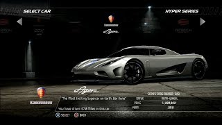 Need For Speed Hot Pursuit: Koenigsegg Agera (Test Drive)