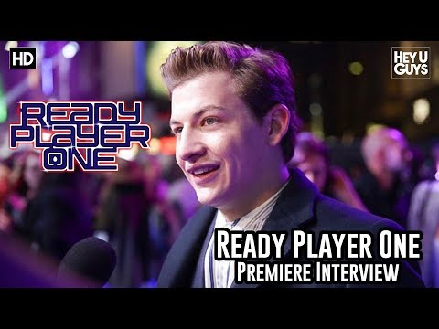 Tye Sheridan (Wade Owen Watts/Parzival) on finding your inner child at the Ready Player One Premiere