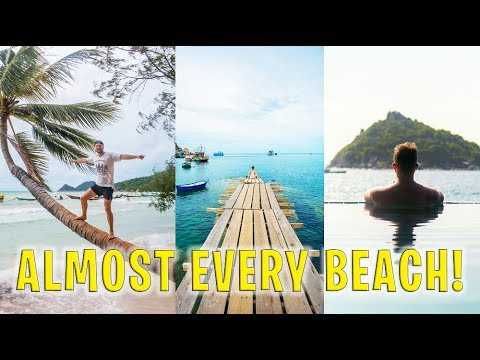 Visiting almost EVERY beach on Koh Tao!   Thailand