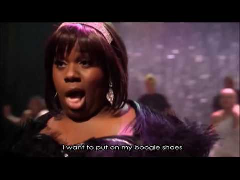 Glee Boogie Shoes Full Performance With Lyrics Youtube