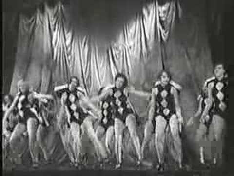 French Chorus Girls 1929 Youtube