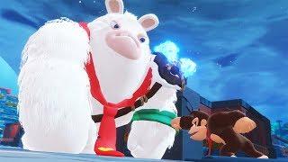 Mario + Rabbids: Kingdom Battle - Donkey Kong Adventure 100% Walkthrough Part 3 - The Jungle