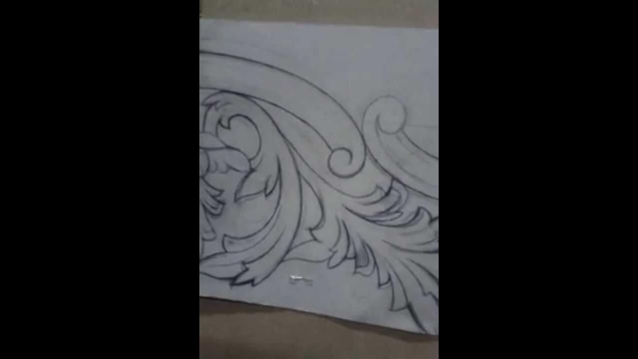 رسم والنحت على الاخشاب Youtube