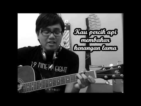Hafiz - Bahagiamu Deritaku Acoustic Cover by Dzul Izzat (with Chords Tutorial)