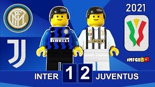 Inter vs Juventus 1 2 Coppa Italia 2021 Lego Gol e Sintesi Inter Juve All Goals Highlights