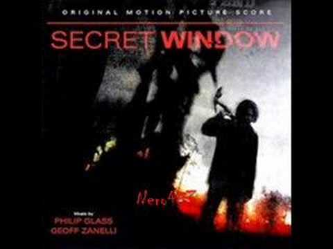 Secret Window Soundtrack Main Titles Youtube