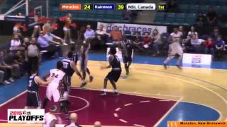 Rainmen Advance To Atlantic Division Finals With Victory Over Moncton