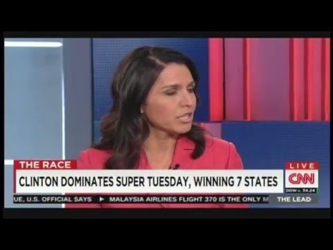 Tulsi Gabbard Interview with Jake Tapper (March 2, 2016)