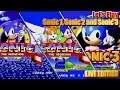 Let's Play Sonic 1, Sonic 2 & Sonic 3 LIVE with GIVEAWAY - Win Sonic 3 Japanese Edition