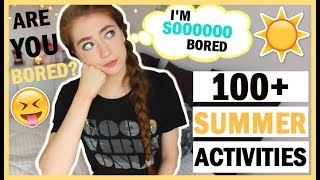 100+ Things To Do When You're Bored In The Summer | Fun EPIC Summer Bucket List Activity Ideas 2017!