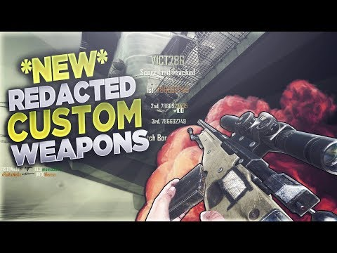 HOW TO GET *NEW* CUSTOM WEAPONS ON BO2 REDACTED! [PC ONLY