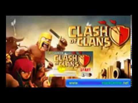 Clash Of Clans Gems Hack [Free Download]