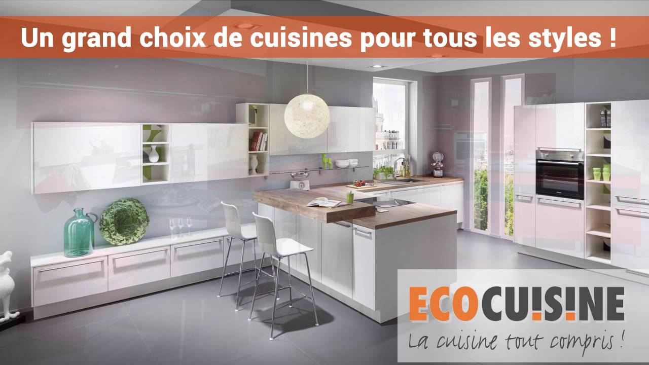 installation de cuisine quip e montmorency youtube. Black Bedroom Furniture Sets. Home Design Ideas