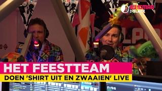 Het Feestteam doet 'Shirt uit en zwaaien' live! #CARNAVAL | Bij Igmar