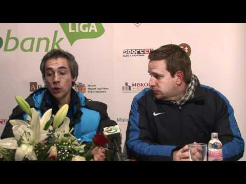 2012.03.11. DVTK - Videoton - Paulo Sousa nyilatkozata