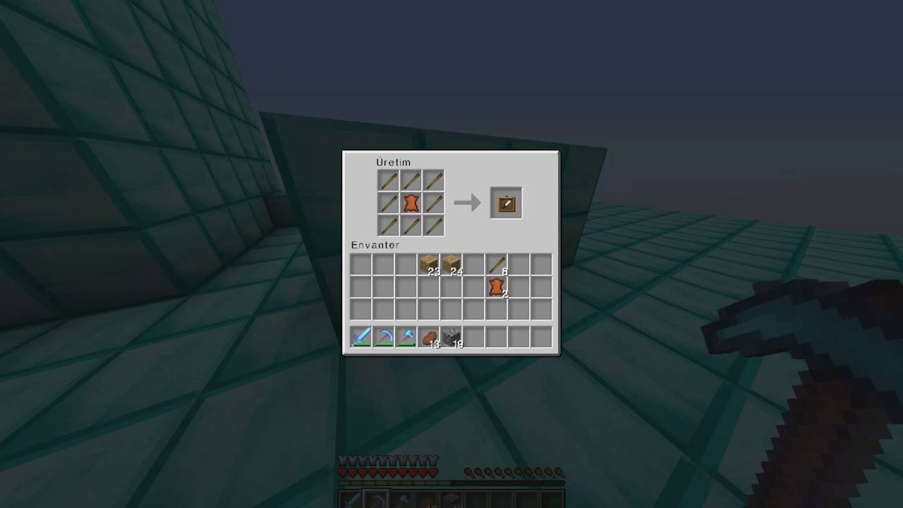 how to make a picture frame in minecraft wiki