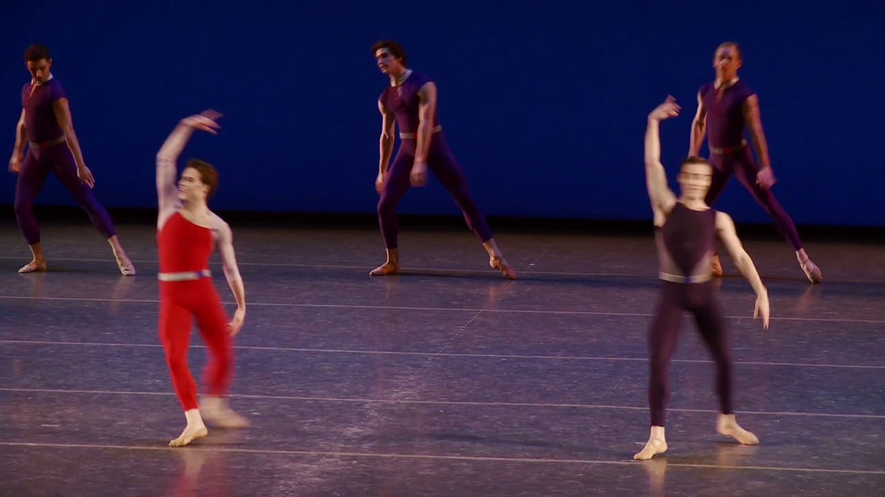 NYC Ballet's Tyler Angle on MERCURIAL MANOEUVRES
