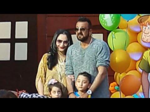 Sanjay Dutt's Kids Iqra & Shahraan's GRAND BIRTHDAY Party