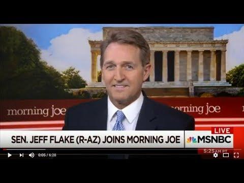 Flake Talks Tariffs, North Korea, and Direction of GOP