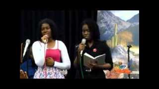 What are you going to present- Faith James & Abigail Bernard